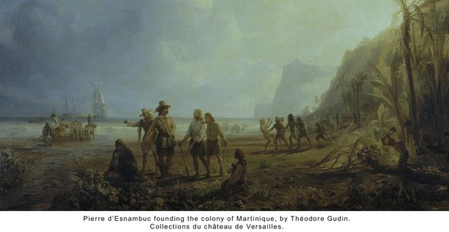 Founding of the colony of Martinique