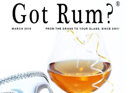 """""""Got Rum?"""" March 2019 Featured Story"""