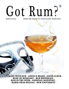 """Got Rum?"" March 2019 Thumbnail"