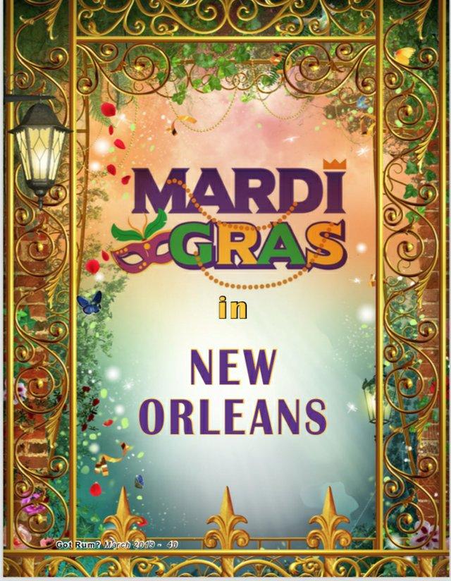 Mardi Gras Special