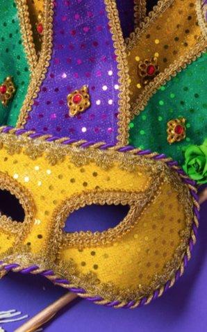 Mardi Gras Mask 2