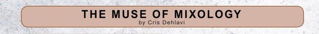Muse of Mixology title