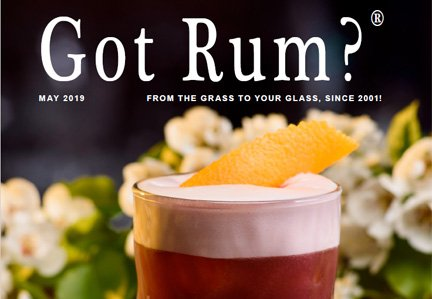 """Got Rum?"" May 2019 Featured Story"