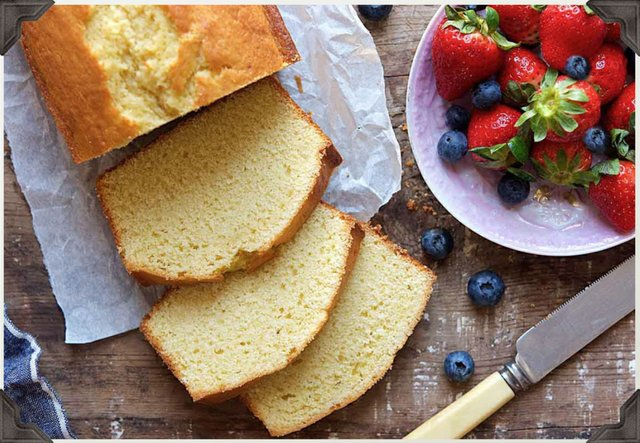 Rummy-Yummy Pound Cake