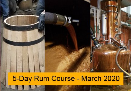 5-Day Rum Course, March 2020