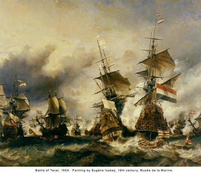 Battle of Texel 1694