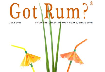 """Got Rum?"" July 2019 Featured Story"