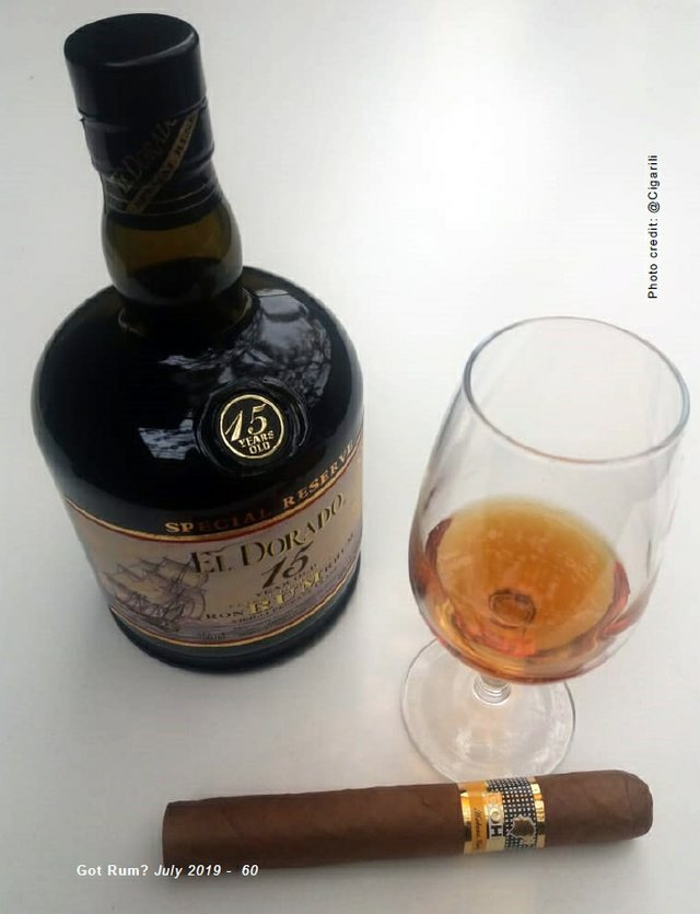 July 2019 Cigar and Rum Pairing