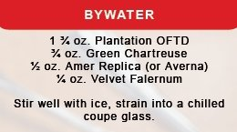 Bywater Cocktail Recipe