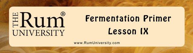 Fermentation Primer Lesson 9