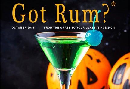 """Got Rum?"" October 2019 Featured Story"