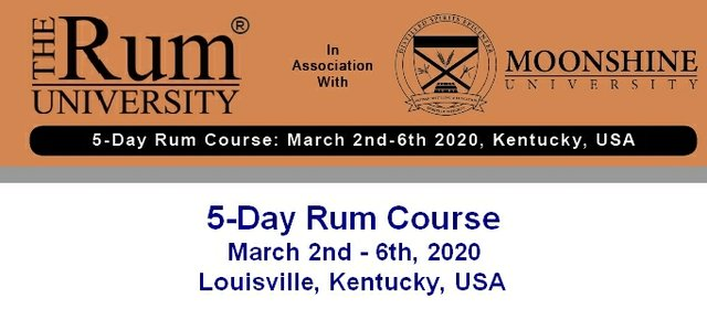 March 2020 Rum course