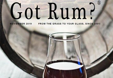 """Got Rum?"" November 2019 Featured Story"