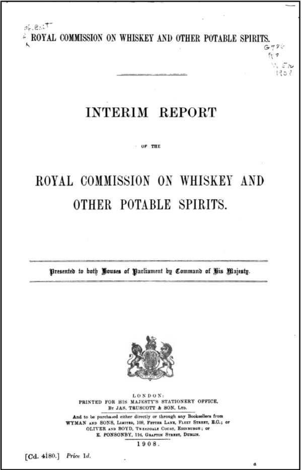 Royal Commission on Whiskey