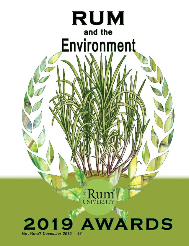 2019 Awards- Rum and the Environment