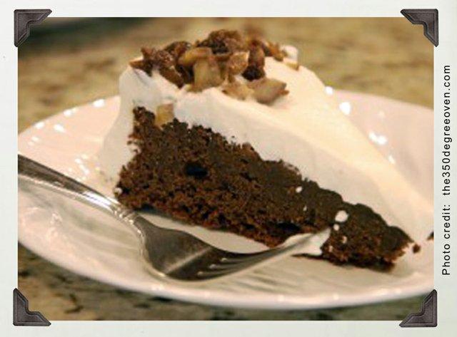 Woozy date torte