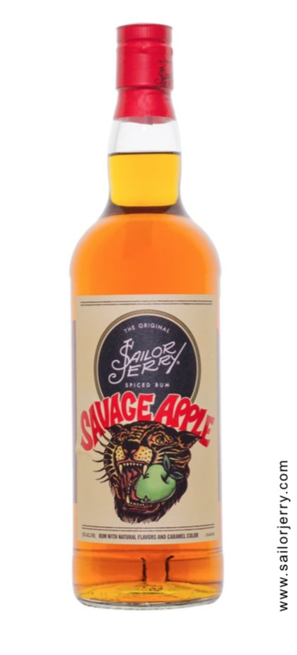 Sailor Jerry Savage Apple Flavored Rum