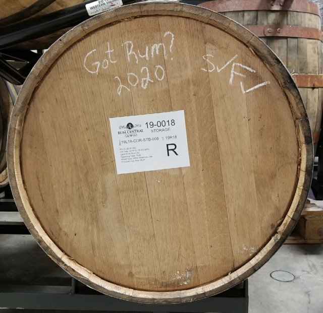 Got Rum barrel