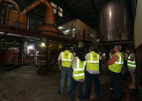 Distillation Process of Worthy Park