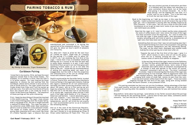 Feb 2013 Tobaco & Rum