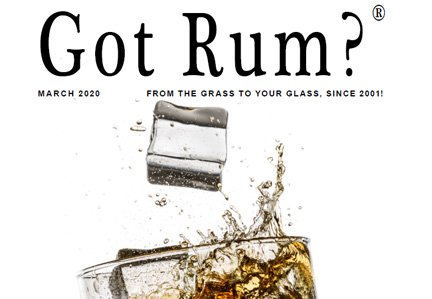 """""""Got Rum?"""" March 2020 Featured Story"""
