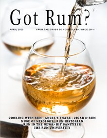 """Got Rum?"" April 2020 Thumbnail"