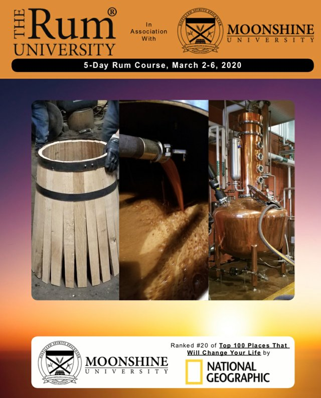 The Rum University 5 day course