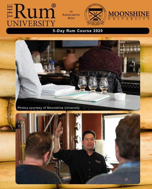 5 day rum course rum university