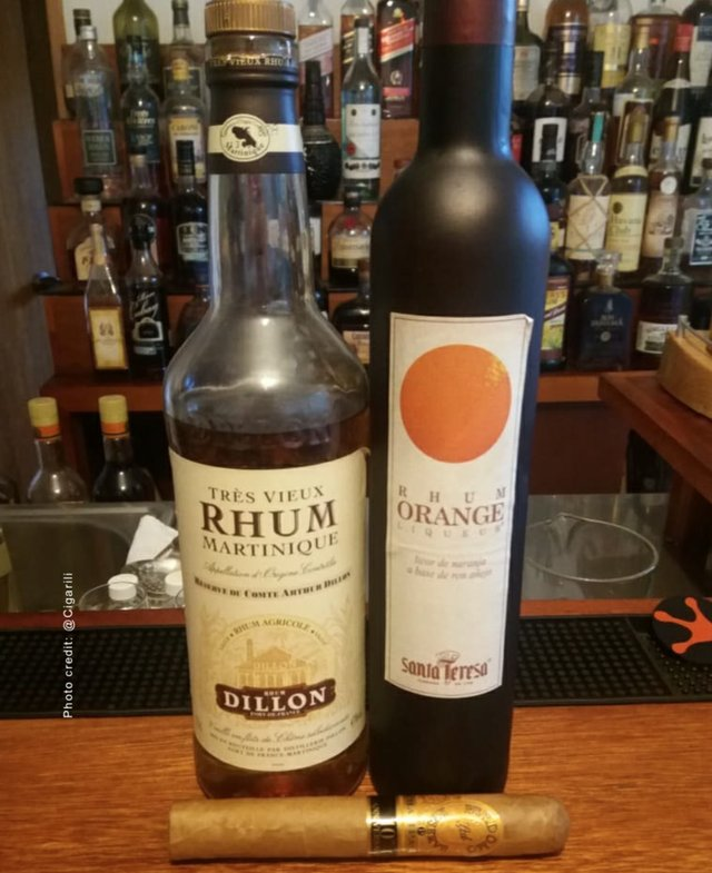 Tres Vieux Rhum Dillon and Rhum Orange