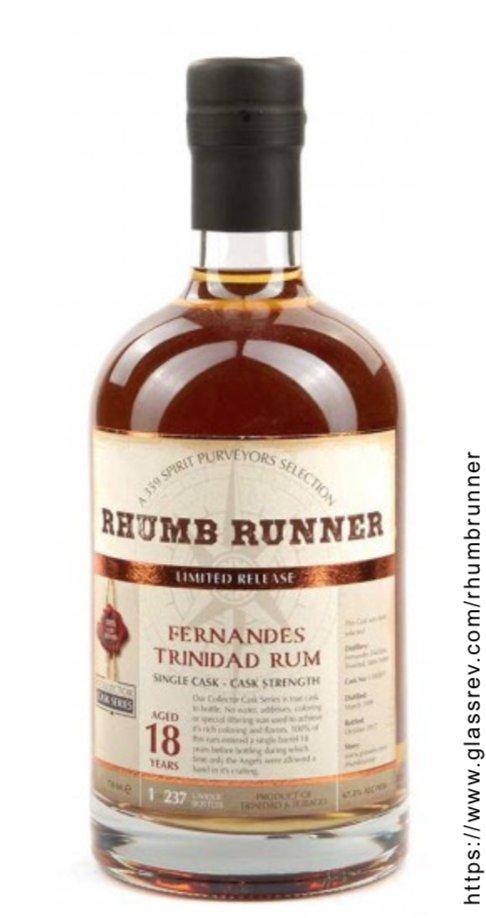 Rhumb Runner Fernandes Trinidad 18 Year Old Rum