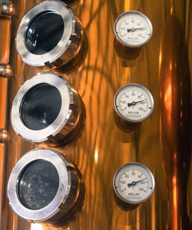 Muller distillery equipment