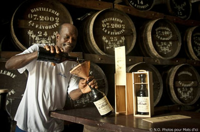 Cellar Master, Mr. Charles Robert, of Rhum La Favorite from Martinique