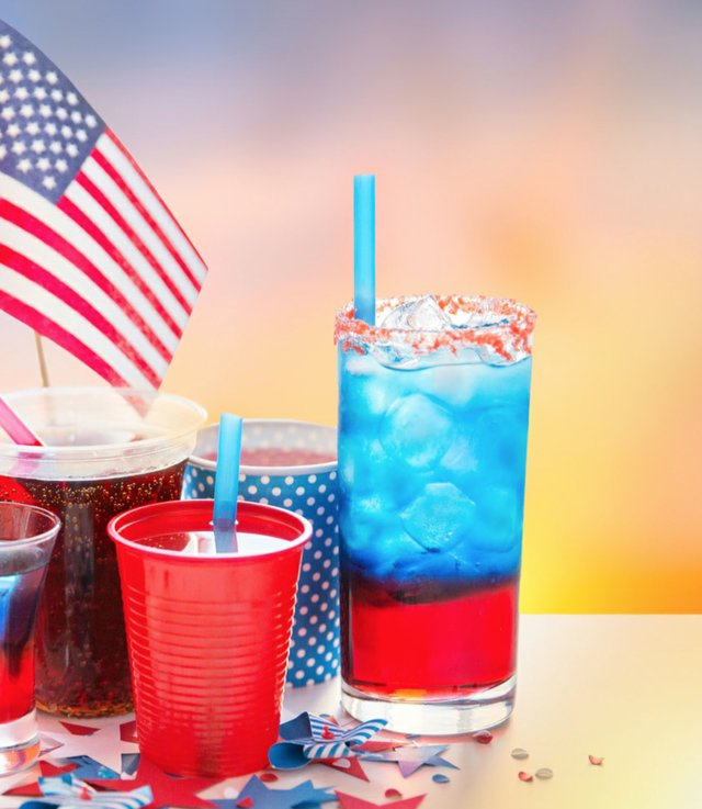 Happy Independence day Drinks