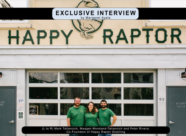 Exclusive Interview with with Happy Raptor Distilling