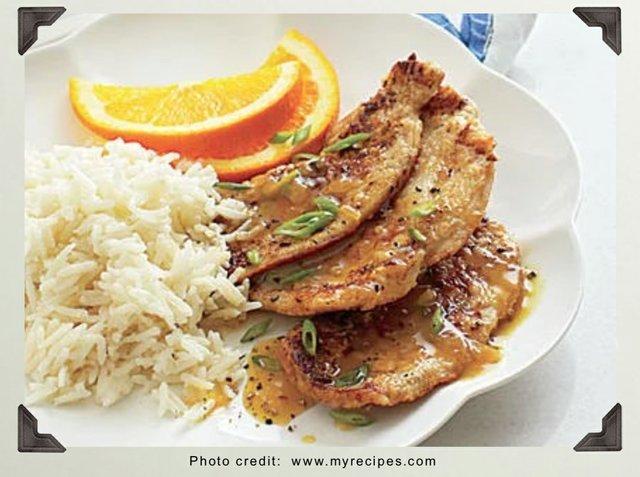 Carribean Ginger Chicken