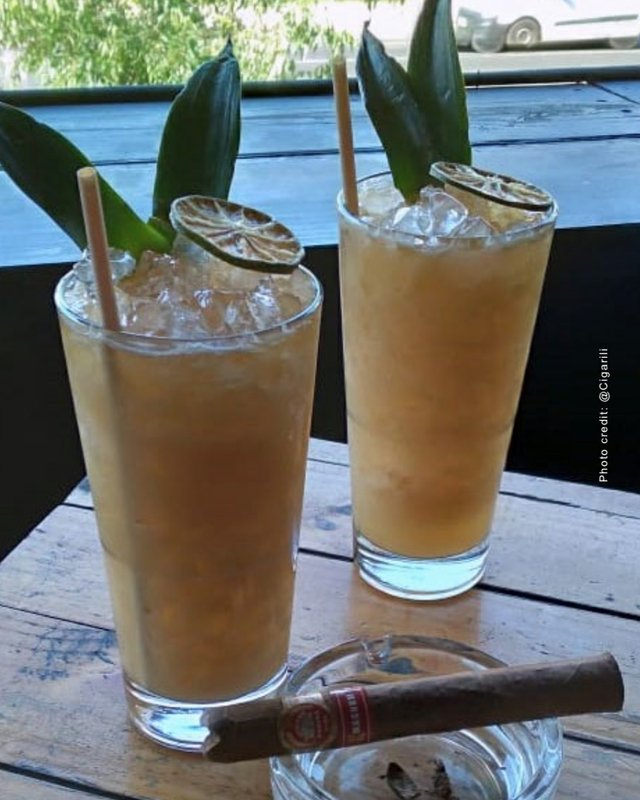 Mai Tai for cigars
