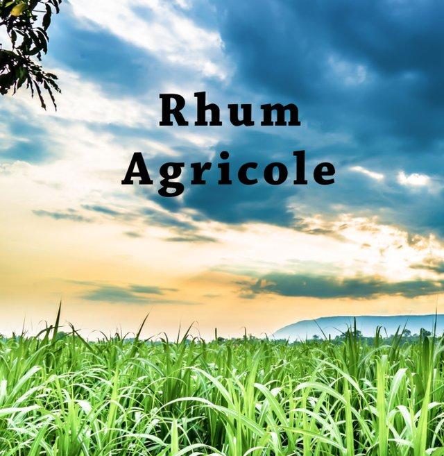 Rhum Agricole title page