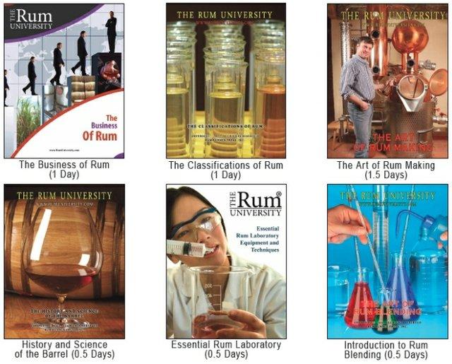 Rum University 5-Day Topics