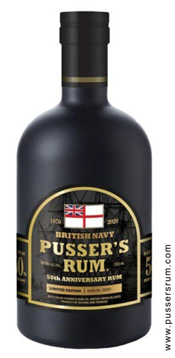 Pusser's 50th Aniversary Rum
