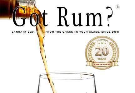 """""""Got Rum?"""" January 2021 Featured Story"""
