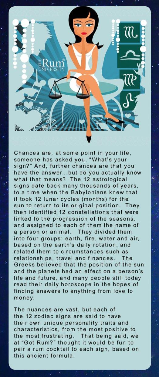 Rum Astrology