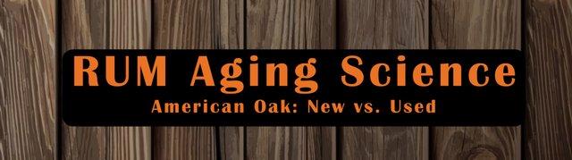 Rum Aging Science American Oak Barrels