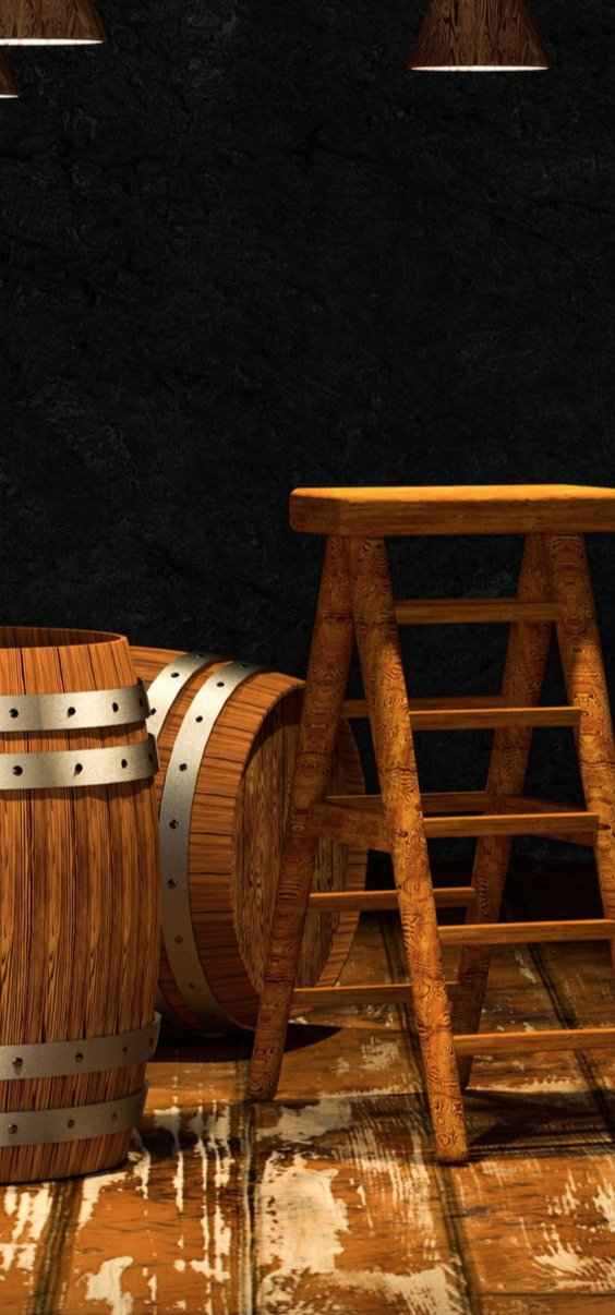 Rum Aging Science Oak barrels