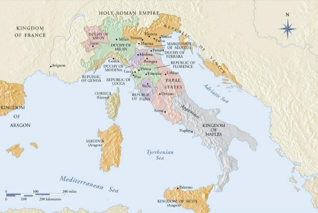 Italy in the 1400s