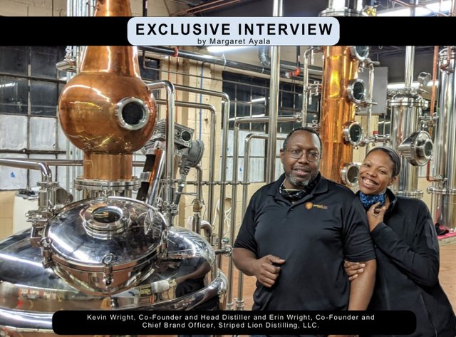 Exclusive Interview with Kevin and Erin Wright of Striped Lion Distilling