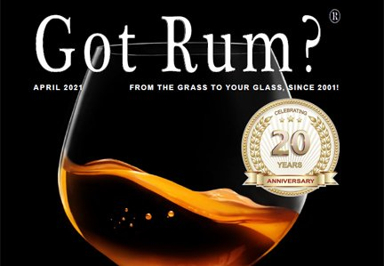"""Got Rum?"" April 2021 Featured Story"