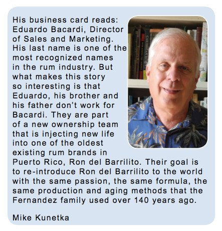 Exclusive Interview with Eduardo Bacardi by Mike Kunetka