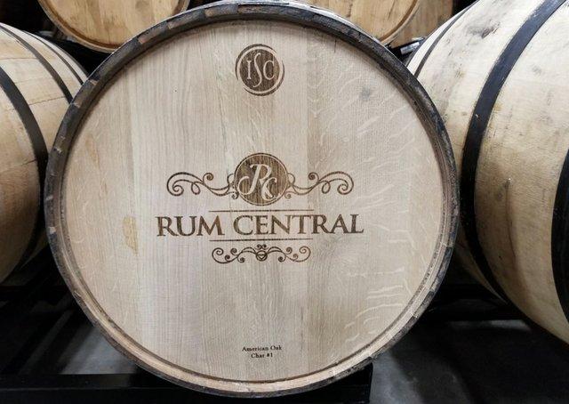 Rum in American Oak barrel April