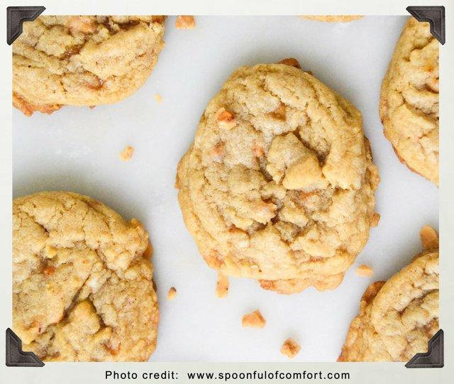 Brown Sugar Rummy Cookies