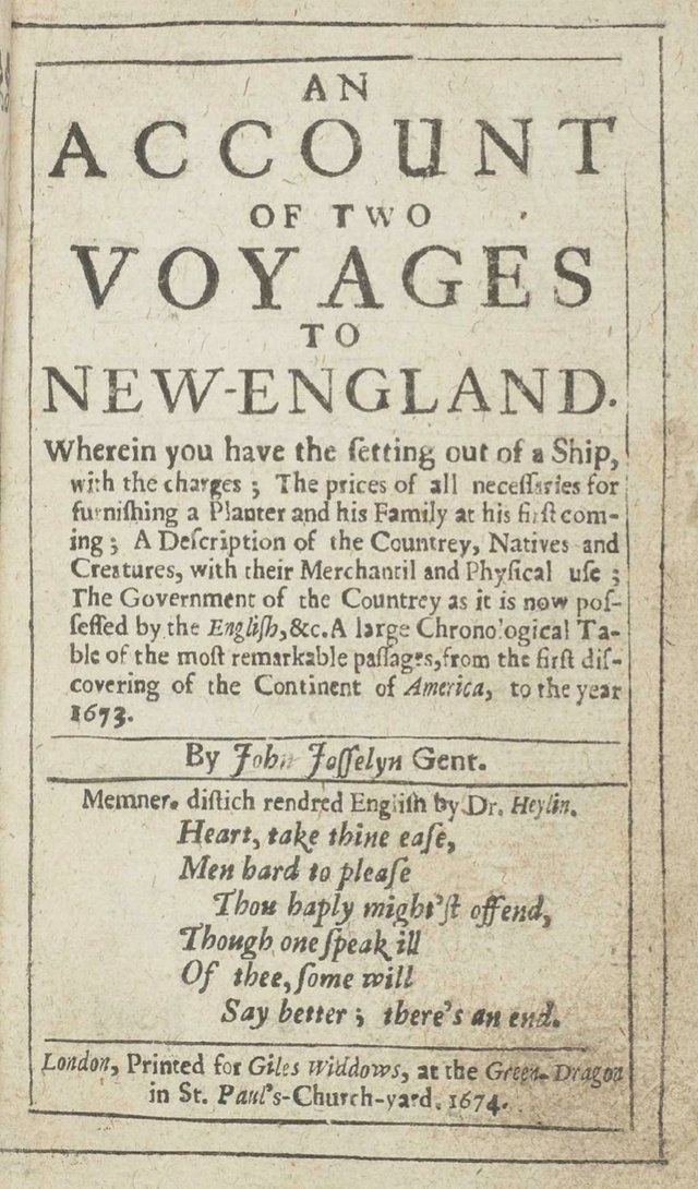 An account of Two Voyages